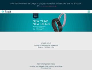client.fitbit.com screenshot