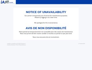 client.investia.ca screenshot