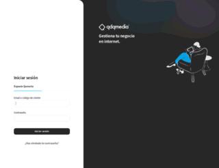 clientes.qdq.com screenshot