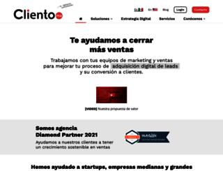 cliento.mx screenshot