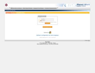 clients.planet-work.com screenshot