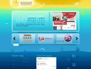clients.sadaf.ps screenshot
