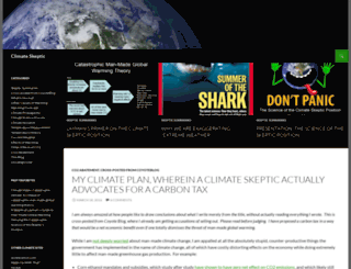 climate-skeptic.com screenshot