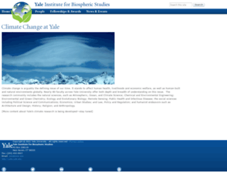 climate.yale.edu screenshot