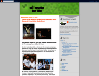climate4mylife.blogspot.com screenshot