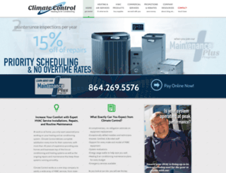 climatecontrol.isinproduction.com screenshot