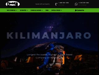 climbkili.com screenshot