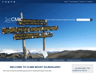 climbmountkilimanjaro.com screenshot