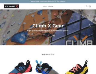 climbxgear.com screenshot