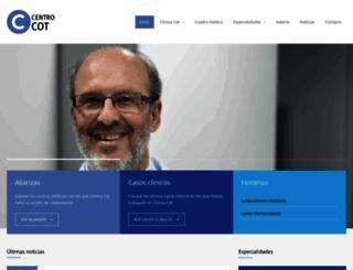 clinicacot.com screenshot