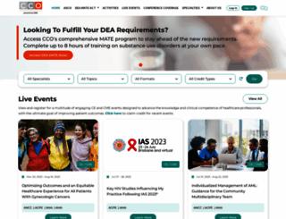 clinicaloptions.com screenshot