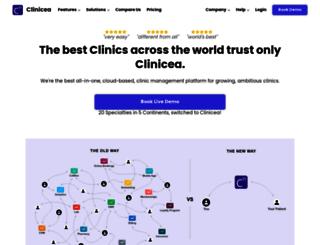 clinicea.com screenshot