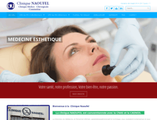 clinique-naoufel.com screenshot