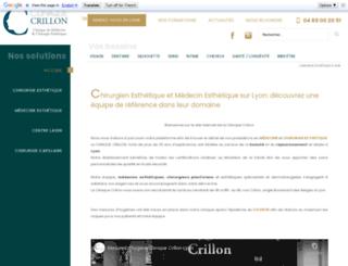 cliniquecrillon.com screenshot