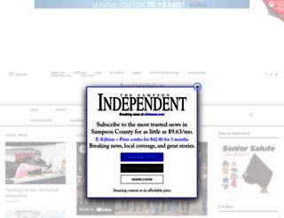 clintonnc.com screenshot