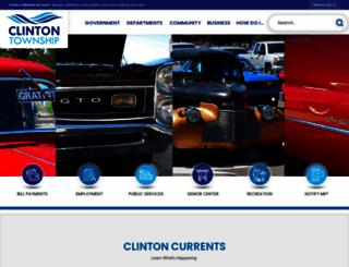 clintontownship.com screenshot