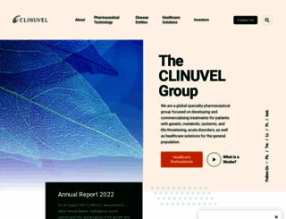 clinuvel.com screenshot