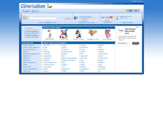clipartsalbum.com screenshot