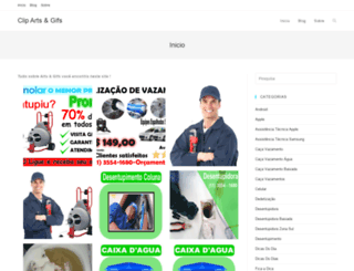 clipartsegifs.com.br screenshot