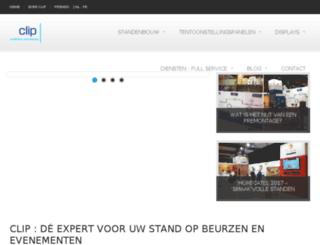clipdisplay.nl screenshot