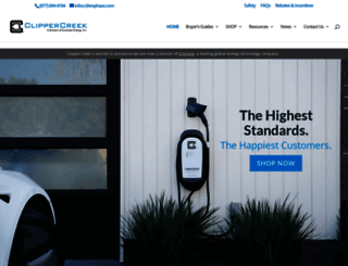 clippercreek.com screenshot