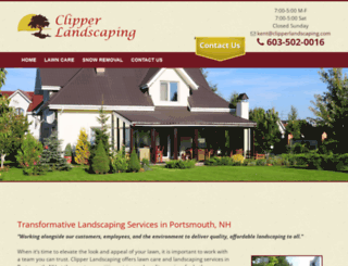 clipperlandscaping.net screenshot