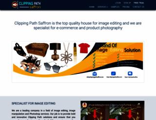 clippingpathsaffron.com screenshot