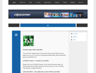 clipscorner.net screenshot