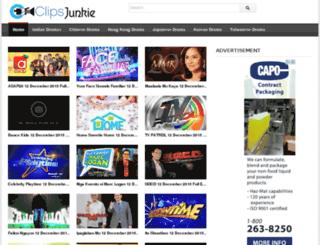 clipsjunkie.com screenshot