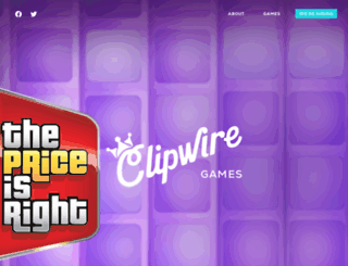 clipwiregames.com screenshot