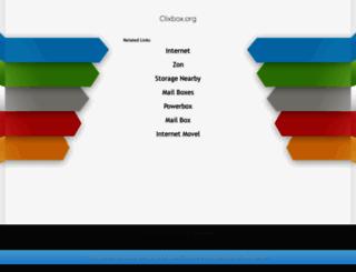 clixbox.org screenshot