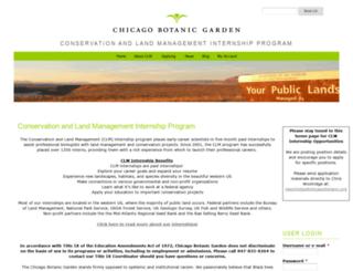 clminternship.org screenshot