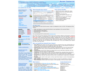 clonecleaner.com screenshot