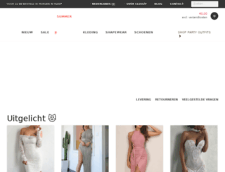 cloozy.nl screenshot