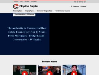 cloptoncapital.com screenshot