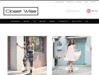closetwise.com.au screenshot