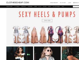 clothing.net screenshot