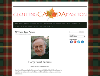 clothingcanadafashion.com screenshot