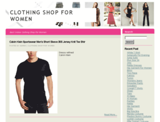 clothingshopforwomen.com screenshot