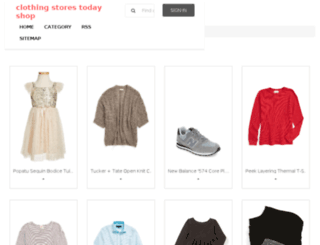 clothingstorestoday.com screenshot