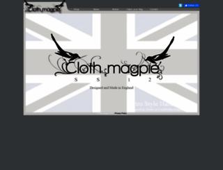 clothmagpie.com screenshot