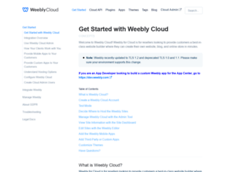 cloud-developer.weebly.com screenshot