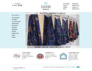 cloud9fabrics.com screenshot