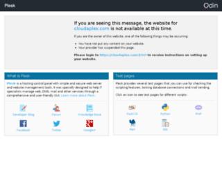 cloudaplex.com screenshot
