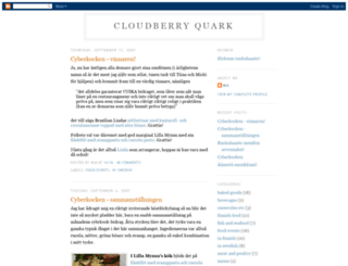 cloudberryquark.blogspot.com screenshot