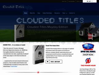 cloudedtitles.com screenshot