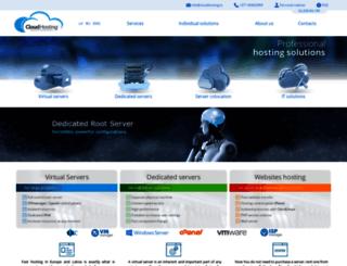 cloudhosting.lv screenshot