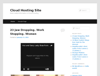 cloudhostingsite.xyz screenshot