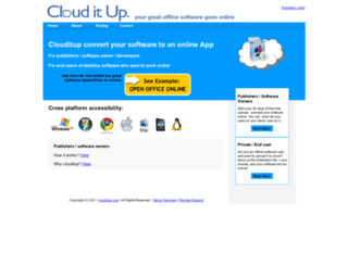 clouditup.com screenshot