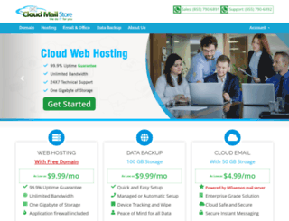 cloudmailstore.com screenshot